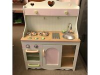Mothercare/early learning wooden kitchen and accessories