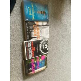 Brand new books never used. £40.00 for the lot.