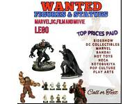WANTED FIGURES & STATUES MARVEL,DC,MOVIE,GAMING