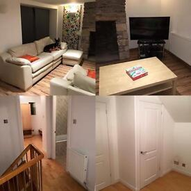 Luxury rural 3 bedroom home to let in crookston heriot EH38 5YS