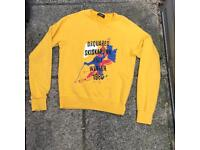 Dsquared yellow jumper