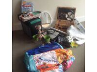 Household items for car boot