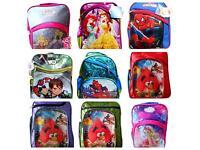 Kids boys girls Disney school bags brand new cheap price from £5