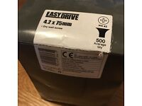 EasyDrive 4.2 x 75mm PH2 screws for plasterboard