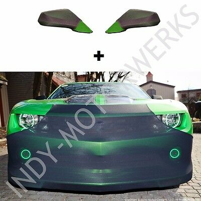 CAMARO NOVISTRETCH FRONT + MIRROR BRA HIGH TECH STRETCH MASK COMBO FITS: 5th GEN