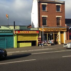 one bedroom to let on falls road above o'hares shop