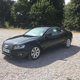 Audi A5 2.7 diesel auto sports coupe black