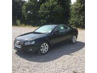 Audi A5 2.7 diesel auto sports coupe black