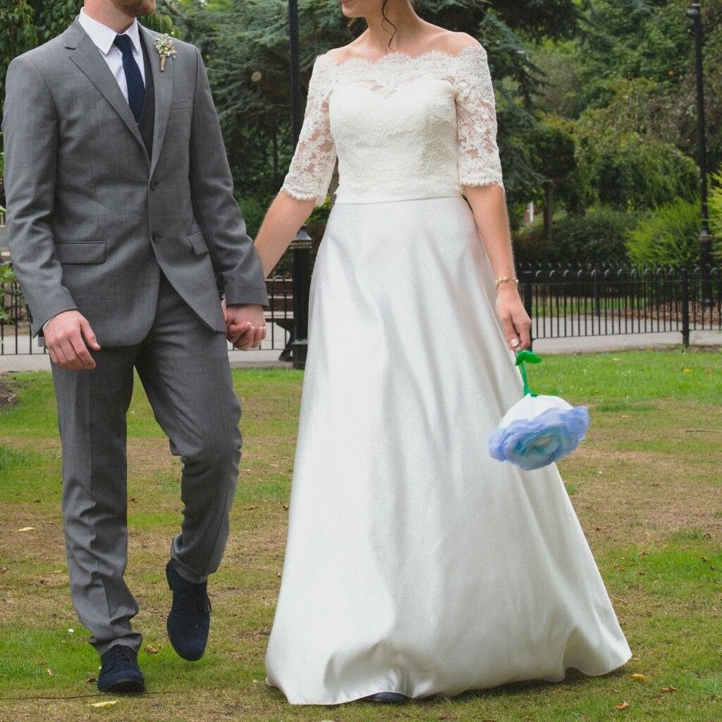 Ivory Wedding Dress - Size 10 (one of a kind ) | in Bournemouth ...