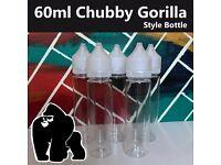 60ml Chubby Gorilla Unicorn Bottles - 5 from £5.99