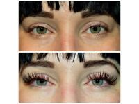 individual eyelash extensions, hair straightening with GK, lash perm,lash tinting.