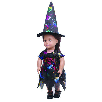 utfits für 18 Zoll AG American Doll Doll Dress Up Costume (Doll Dress Up Für Halloween)