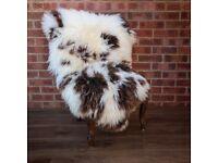 Large Sheepskin Rug cue calf look