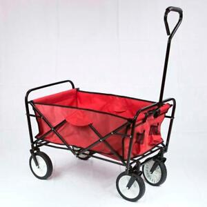 We are retail shop ... NEW ... Collapsible Folding Outdoor Utility Wagon, Cart