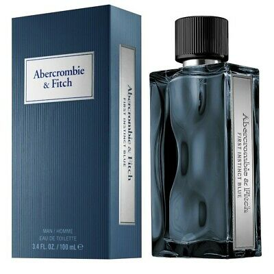 Abercrombie & Fitch First Instinct Blue EDT Cologne for Men 3.4 oz