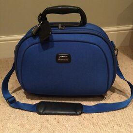 Ladies blue vanity case