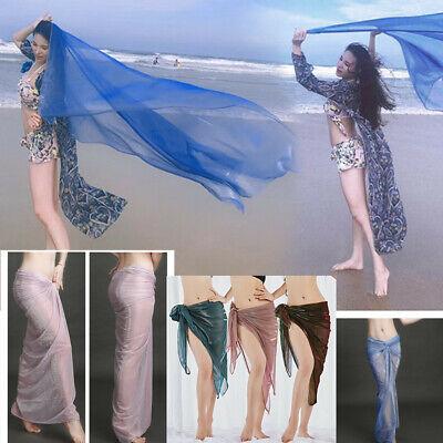 Women Veil Scarf Shawl Belly Dancer Dancing Hip Scarf Beach Scarf Wrap -