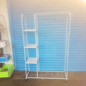 Hanger with shelves