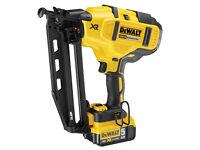 DEWALT DCN660P2 18v Second fix nailer 5 Amp x 2 Batts BRAND NEW