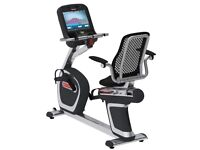 Star Trac Recumbent E-RBe Bike HD Touch Screen Ex Cond also Suitable for Disabled & Elderly People