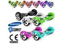 Swegway Hoverboard 6.5 Inch Self Balance Scooter Wheel Electric Bluetooth Chrome