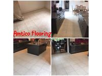Tiling, Hard Floor and Grout Cleaning, Sealed and Polished