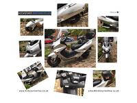 2000 Honda forza 250!long mot very clean £875