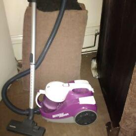 powerful bagless Hoover vacuum cleaner