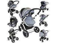 Baby pram& car seat