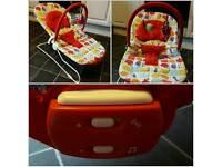 Mamas And Papas Early Bird Vibrating Musical Bouncy Chair