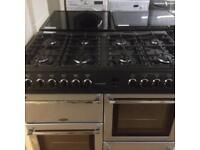 Silver 8 burner cooker (duel fuel)