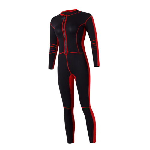 Full Body Cover Wetsuit Long Sleeves Dive Skin Suit for Wome