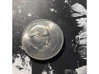 Winston Churchill Memorial Coin 1965