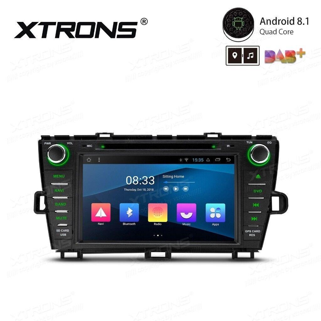 Toyota Prius Android Radio CD HD Touchscreen BT GPS USB Car DVD