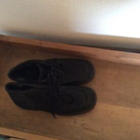 Ecco suede lace up ankle boots, unworn size 41