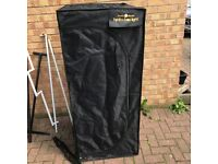 Cheshunt Hydroponics Store - used grow tent Black Orchid 60 x 60 x 160cm