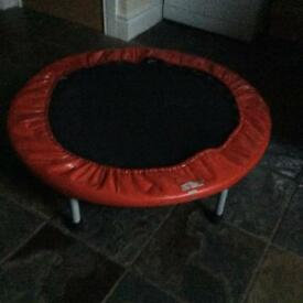 Mini trampoline.