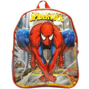 Spiderman Mini 11 inch School Bag Backpack Rucksack School Gift Official NWT