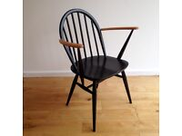 ERCOL WINDSOR 370a CHAIR, STUNNING, DANISH INSPIRED MID-CENTURY MODERN RETRO CLASSIC