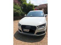 Audi a3 sline white 2014