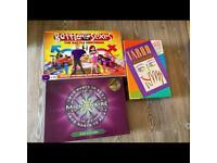 Board games x3