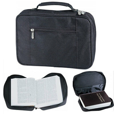 Bible Cover Zippered Protective Holy Book Tote Bag Poly - Bible Bag