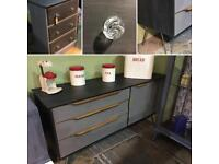 Vintage Retro G Plan style Sideboard/Cabinet