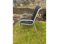 Outdoor chairs - £16 each