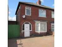 3 Bedroom Semi Detached House, Baxter Avenue, Fenham, NE4 9QD