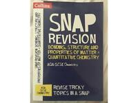 SNAP revision bonding, structure and properties of matter and quantitive chemistry