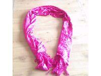 Pink genuine Pashmina, new unused gift,