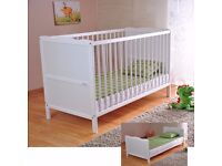 Saplings-Kirsty-Cot-Bed-White