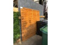 Standard garden fence panel FREE