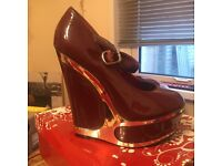 4 pairs ladies size 4 shoes